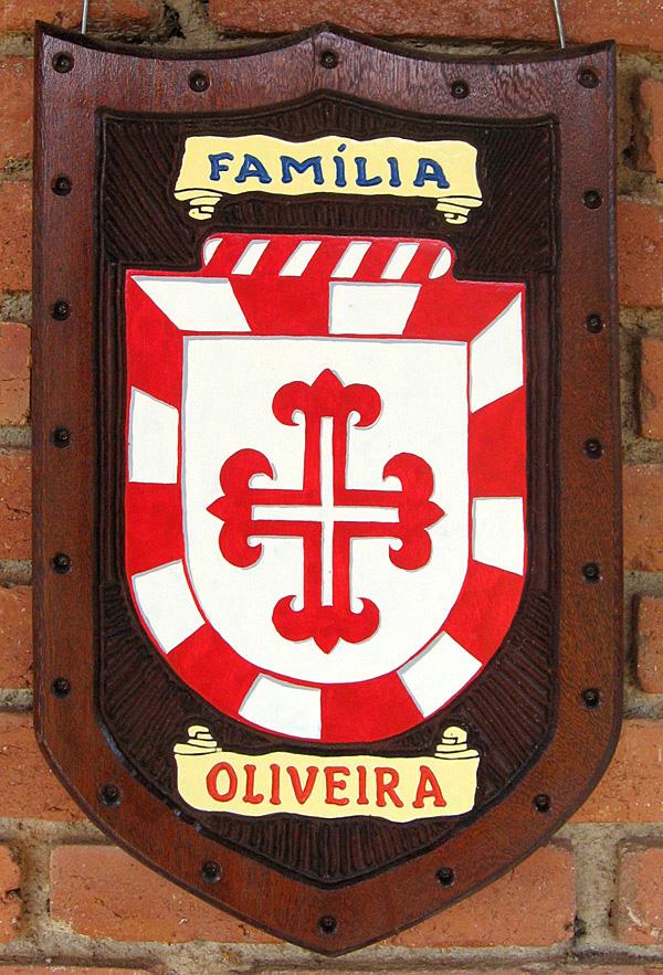Escudo da Família Oliveira - Vista Gera