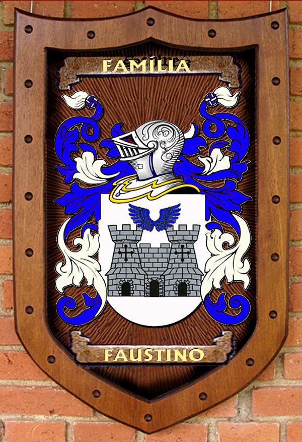Brasão da Família Faustino